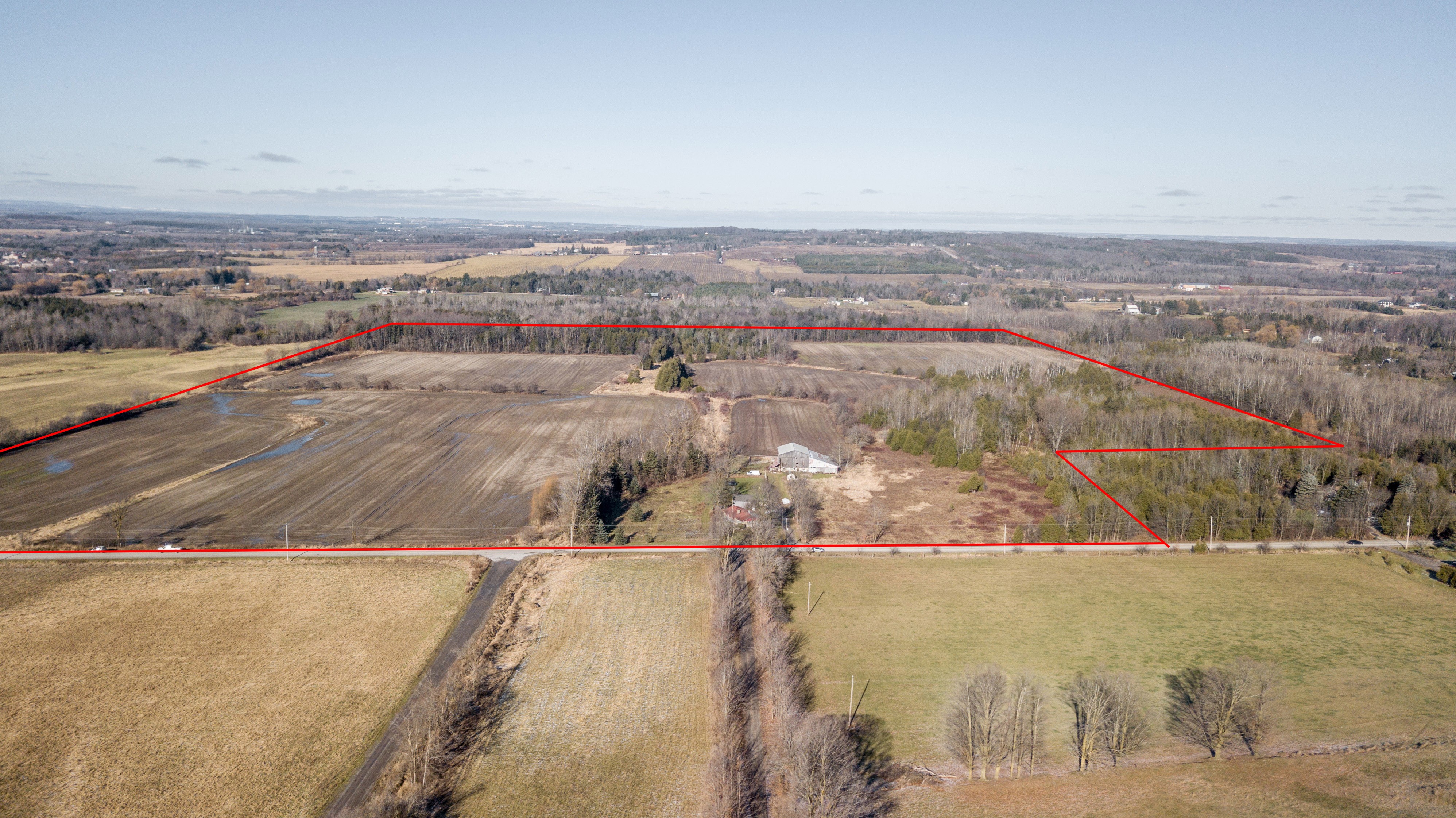 Tottenham South 105 Ac Workable Land, House, Barn, $3,500,000.